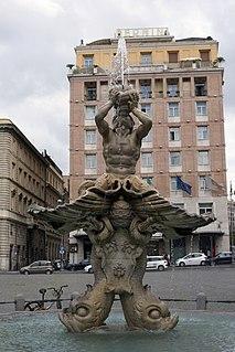 Fontana del Tritone, Rome Fountain in Rome