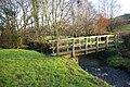 Footbridge near Bunkhole - geograph.org.uk - 643703.jpg