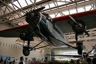 Southwest Air Fast Express - Ford Trimotor at Smithsonian