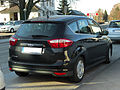 Ford C-Max (II) – Heckansicht, 7. März 2011, Mettmann.jpg