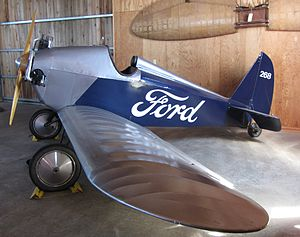 Stout Metal Airplane - Image: Ford Flivver Replica