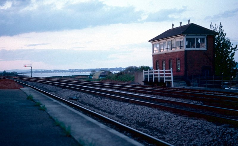 File:Former Signal Box, Dawlish Warren - geograph.org.uk - 1724469.jpg