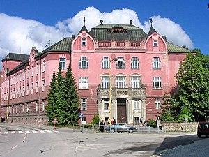 Former university building
