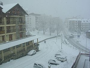 Aragon - Formigal (Huesca) winter