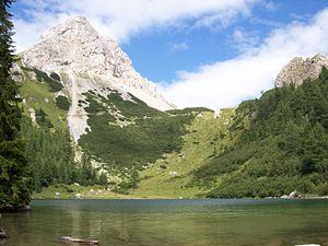 Bordaglia Lake - Image: Forni Avoltri Lago Bordaglia
