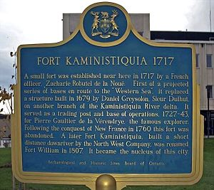 Fort Kaministiquia - Image: Fort Kaministiquia