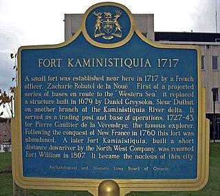 Fort Kaministiquia fort