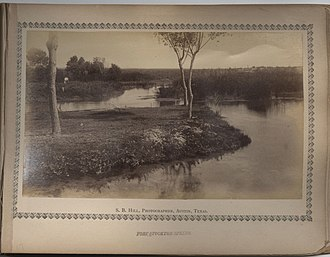Comanche Springs (Texas) - Image: Fort Stockton Spring. (6756830455)