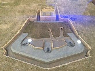 Fort Saint Rocco - Image: Fortifications Interpretation Centre (Valletta) 24