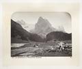 Fotografi av dal och berg i Schweiz - Hallwylska museet - 103151.tif