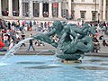 Fountain at Trafalgar Square, London - geograph.org.uk - 224485.jpg