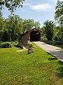 Foxcatcher Farm Covered Bridge, August 2019.jpg