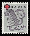 Fr. Zone Baden 1949 45A Rotes Kreuz.jpg