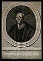 François Rabelais. Line engraving by N. Habert. Wellcome V0004852.jpg