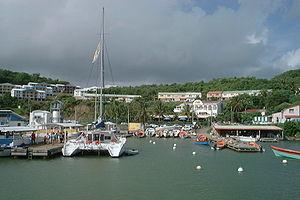 Le François - Le François harbour