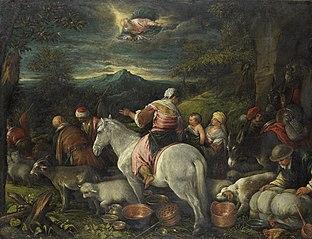 Le Départ d'Abraham pour la terre de Canaan