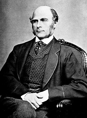 History of the race and intelligence controversy - Francis Galton, the English eugenicist who wrote extensively on the relation between intelligence and social class