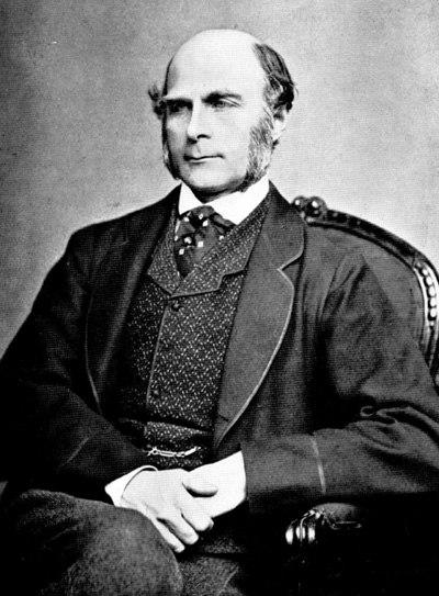 Francis Galton 1850s