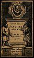 Francisco Sanchez. Line engraving, 1649. Wellcome V0005200.jpg
