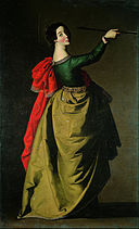 Francisco de Zurbarán - Saint Ursula - Google Art Project.jpg