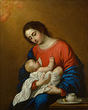 Francisco de Zurbaran - Madonna and Child - Google Art Project.jpg