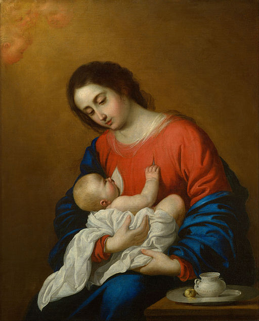 Francisco de Zurbaran - Madonna and Child - Google Art Project