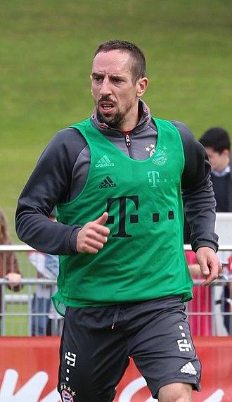 Franck Ribéry - Ribéry training with Bayern Munich in 2017
