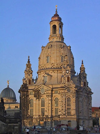 Christianity in Europe - Dresden Frauenkirche, Lutheran church of Dresden.