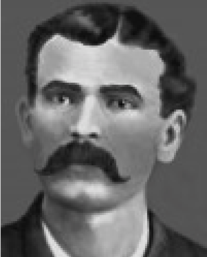Fred White (marshal) - Portrait Taken about 1880