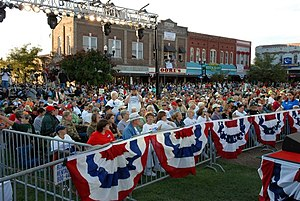 Lawrenceburg, Tennessee - Fred Thompson Rally in Lawrenceburg, 2008