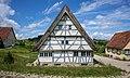 Freilichtmuseum Beuren - Weberhaus aus Laichingen - Ansicht von Osten.jpg