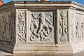 Friesach Hauptplatz Stadtbrunnen Neptun mit Quadriga 28102016 5263.jpg