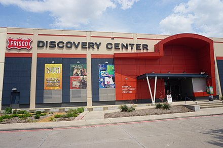 Frisco Discovery Center in June 2019 Frisco June 2019 25 (Frisco Discovery Center).jpg