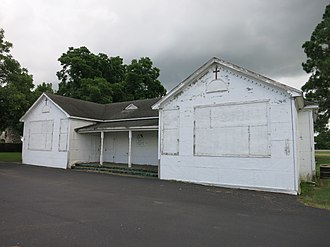 Frydek, Texas - Image: Frydek TX Old St Marys School