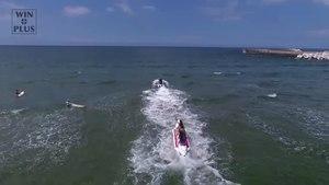 File:Fujitsuka-hama Beach in Summer, Japan - Aerial Video.webm