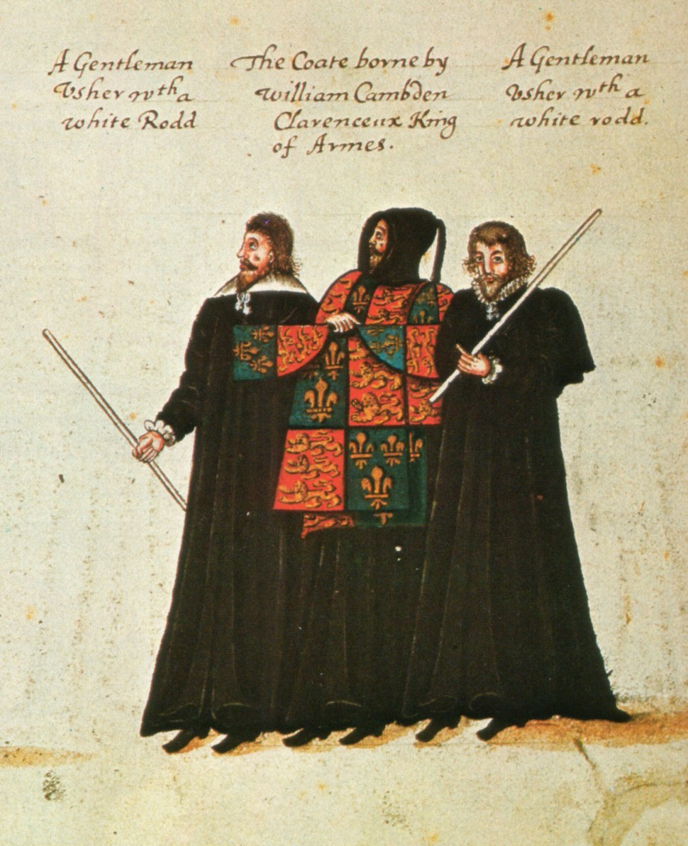 Funeral procession of Elizabeth I William Camden Clarenceux 1603