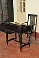 Furniture - Biswanath Duttas Office - Swami Vivekanandas Ancestral House - Kolkata 2011-10-22 6200.JPG