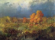 Fyodor Vasilyev Swamp in the forest Autumn 11014.jpg