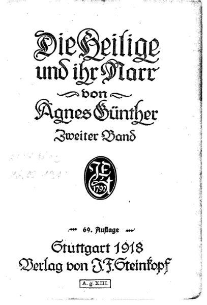 File:Günther Die Heilige und ihr Narr Bd 2.djvu