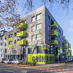 Grüner Weg in Köln
