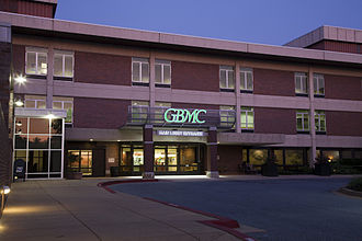Greater Baltimore Medical Center - Image: GBMC Main Entrance