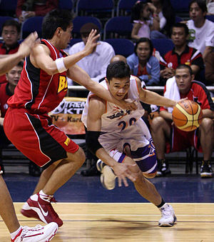 Gary David - Gary David, in a game against Red Bull Barako, with the Air21 Express.
