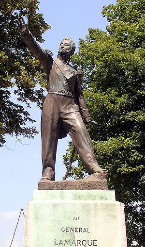 Jean Maximilien Lamarque - Statue of General Lamarque in Saint-Sever, Landes