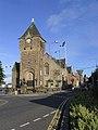 Galashiels Burgh Buildings and War Memorial - geograph.org.uk - 482842.jpg