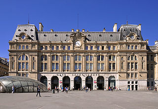 Gare Saint-Lazare train station in Paris, France