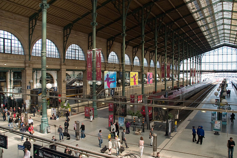 Gare du Nord in Paris