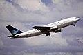 Garuda Indonesian Airways Airbus A300B4-220 (PK-GAC 164) (10360074224).jpg