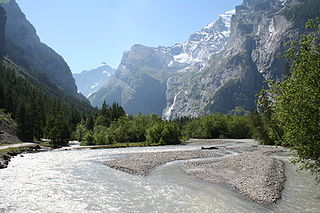 river in Switzerland and a tributary of the Aar River