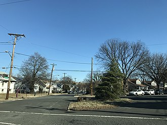 Gateway (Washington, D.C.) - Gateway, at the intersection of Adams St. and 30th Pl. NE, February 2019