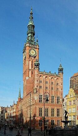 Gdańsk - Ratusz Głównego Miasta (by Sfu)